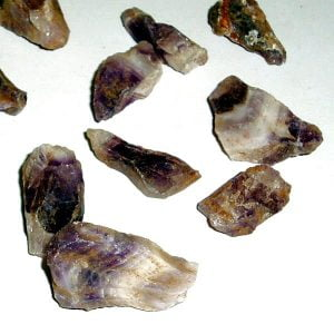 Chevron Amethyst Pieces: 2-3 cm