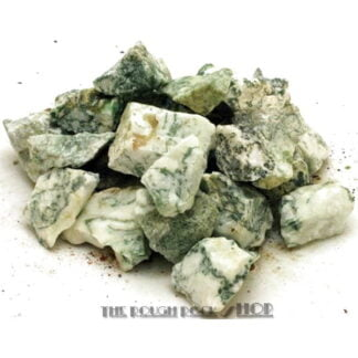 Green Tree Agate Rough For Tumbling