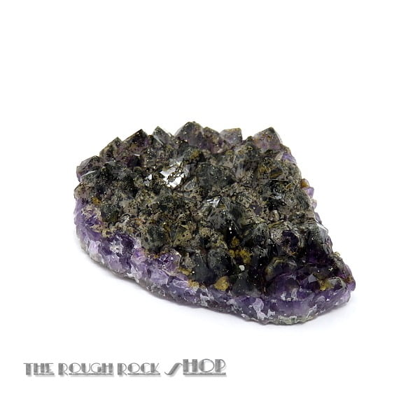 Amethyst with Pyrite Cluster (001) 38 grams from Thunder Bay