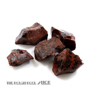 Mahogany Obsidian Rough For Tumblin