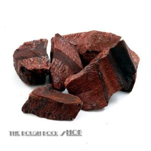 Red Tiger Eye rough For Tumbling