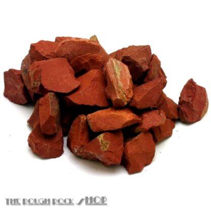 Red Jasper Rough For Tumbling