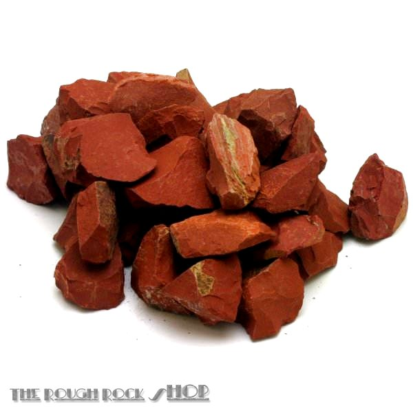 Red Jasper Rough For Tumbling