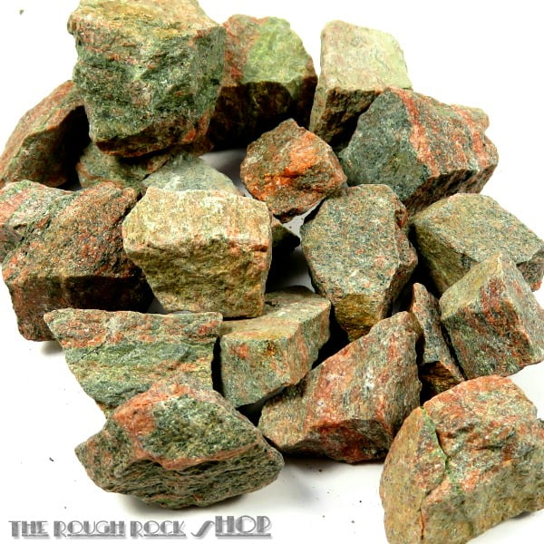 Unakite Rough For Tumbling