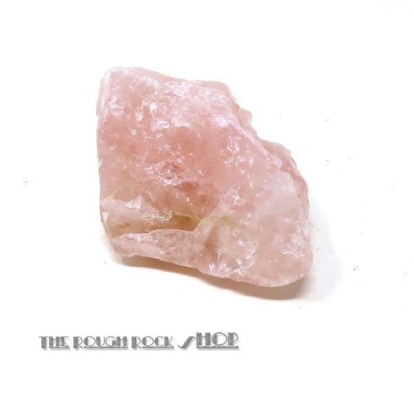 Rose Quartz Rough (076) 88 grams
