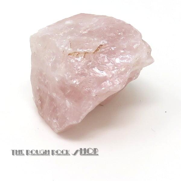 Rose Quartz Rough (086) 74 grams
