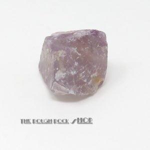 Fluorite - lilac Rough (032) 68 grams