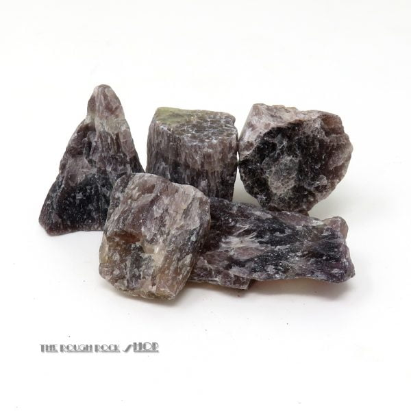 Rainbow Banded Fluorite Rough For Tumbling