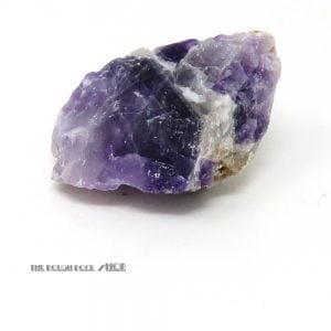 Chevron Amethyst Rough (064) 141 grams