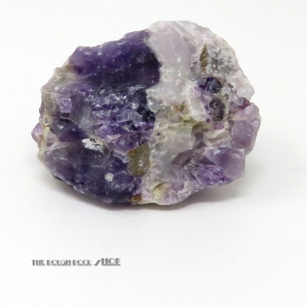 Chevron Amethyst Rough (065) 149 grams