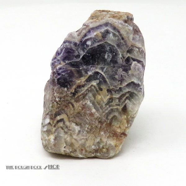 Chevron Amethyst Rough (066) 192 grams