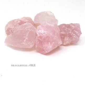 large rose quartz 250g rough for tumbling