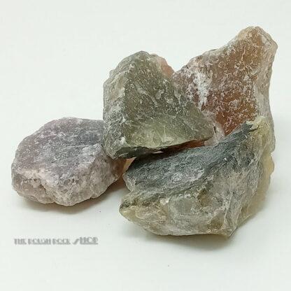 Fluorite Multi Coloured Rough - Tumbling 250 gram